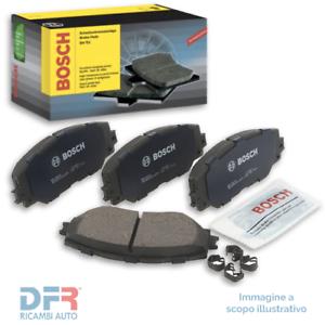 1 BOSCH Kit pastiglie freno Freno a disco Assale posteriore con bulloni//viti