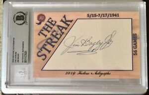 2019-Historic-Autographs-The-Streak-Jim-Bagby-Cut-Auto