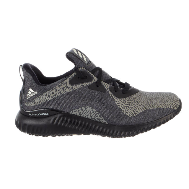 28fe40c8e Mens adidas Alphabounce Reflective HPC AMS Shoes Da9561 Core Black ...