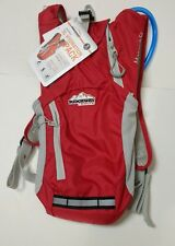 Ridgeway Kelty 5L Hydration Pack (2L bladder) cycling, running, hiking RED NEW