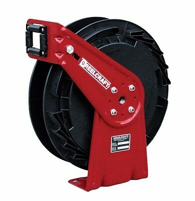 "Bright Reelcraft Rt802-olb 1/2"" X 25ft No Hose 300 Psi Chemical Delivery Hose Reel"