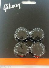 NEW SET 4 knobs GIBSON - PRSK-010- noirs pour SG, LP etc