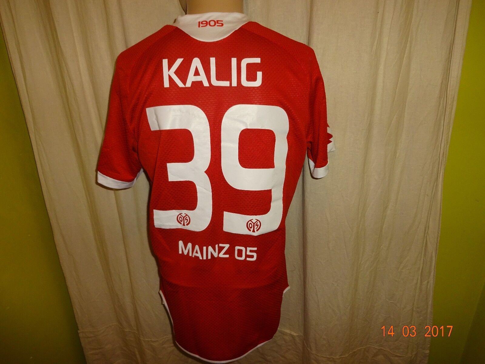 FSV Mainz 05 Lotto Spieler/Matchworn Trikot 15/16