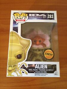 Funko POP! Exposed Alien chase (Independence Day vaulted retired SDCC NYCC 2020)