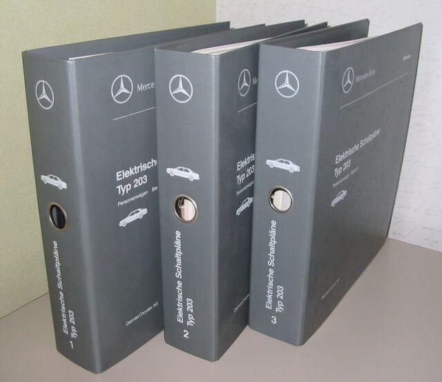 Werkstatthandbuch Mercedes C-Klasse W 203 elektrische Schaltpläne in ...