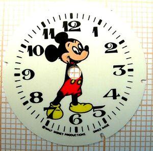 Lot-3-cadrans-mickey-dial-Zifferblatt-sur-papier-cartonne