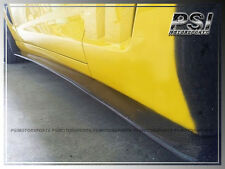 Carbon Fiber Side Skirts Lip For 2005-2013 Chevrolet Chevy Corvette C6 Z06 ZR1