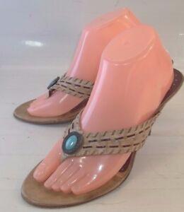 2ef46abeefb0 Luna Rosa Wos Shoes Sandals Pazzo High Heels FOSCO US 9M Beige ...