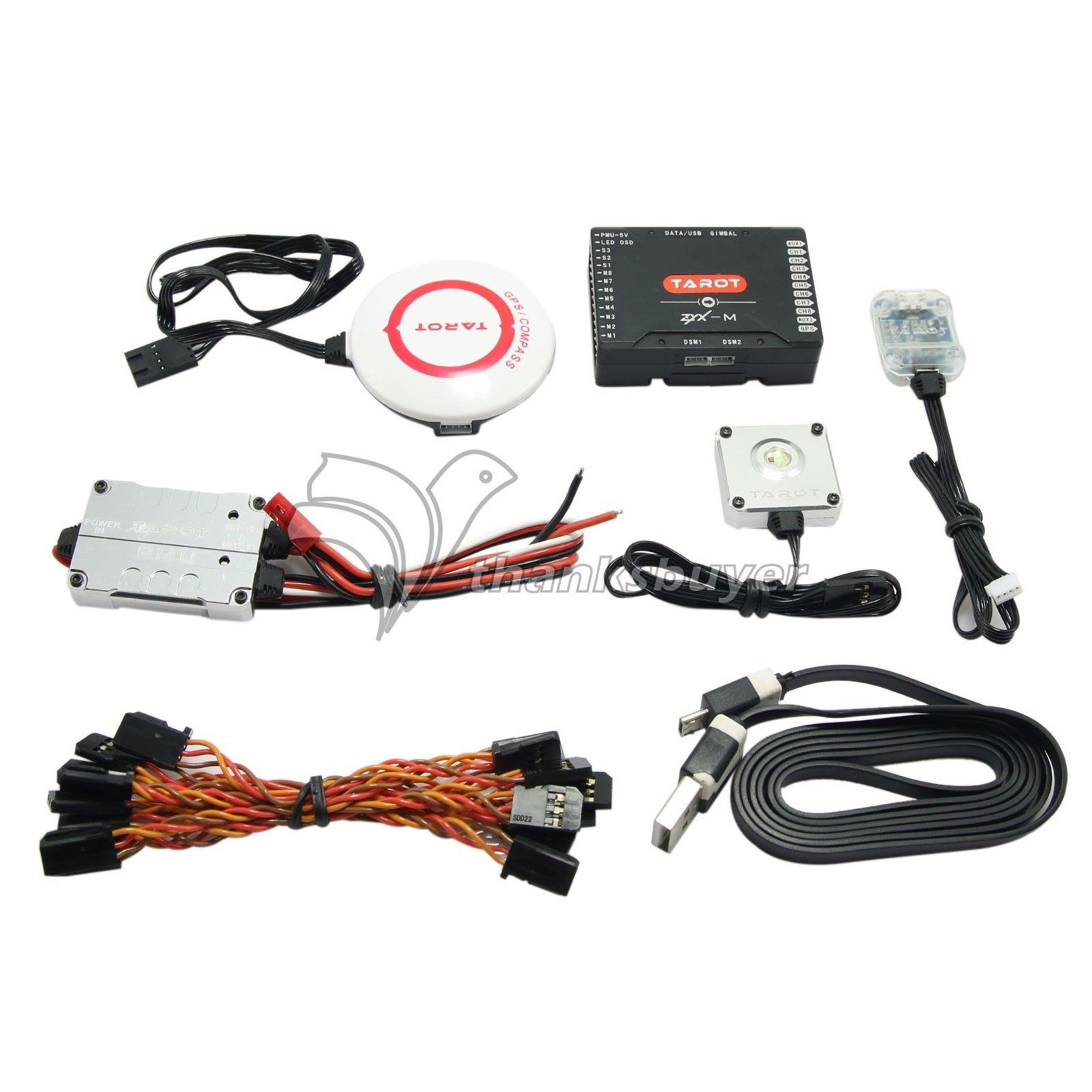 Tarot ZYX-Combo GPS de control de vuelo M PMU Módulo para vista en primera persona Radio Control multirrotor ZYX25