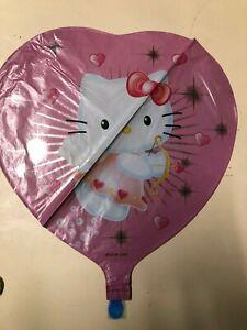 Hello-Kitty-Rond-45-7cm-Ballon-Helium-Enfants-Fete-D-039-Anniversaire
