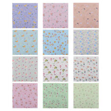 70 Sheets Floral Pattern DIY Kids Origami Paper Scrapbooking Decoration 14*14CM