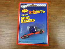 HOLLY CAR (genre Majorette) FLUO MINI RACERS 1990's K6 KENWORTH