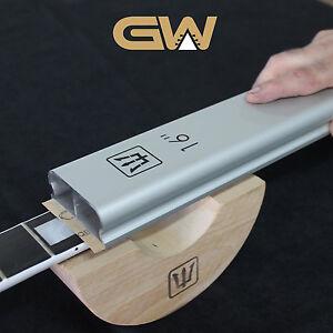 "16"" Aluminum Radius Sanding Block Beam For Fretboard/Fing<wbr/>erboard"