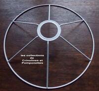 Carcasse Metallique Traitee Epoxy Pour Suspension De 25 Cm De Diametre