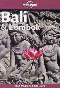 034-VERY-GOOD-034-Lonely-Planet-Bali-and-Lombok-Wheeler-Tony-Covernton-Mary-Book