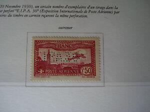 FRANCOBOLLO-FRANCIA-1930-1-50-CARMINIO-POSTA-AEREA-UNIFICATO-A6B