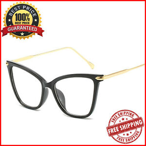 Cat-Eye-Frame-Glasses-Fashion-Accessories-Over-Sized-Optical-Eyewear-For-Women