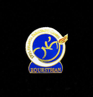 Sports Memorabilia Paralympic Equestrian Pin Atlanta Summer Paralympics Rich In Poetic And Pictorial Splendor Olympic Memorabilia