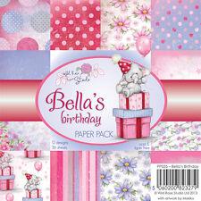 "Wild Rose Studio: 6""x6"" Paper Stack - Bella's Birthday"