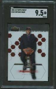 2002-TOPPS-FINEST-ROOKIE-DWYANE-WADE-RC-SGC-9-5
