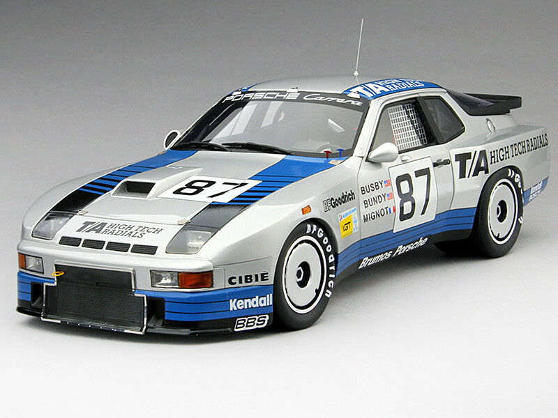 True Scale Porsche 924 Carrera GTR-CLASS WINNER 24 H LeMans 1982 TSM MODEL - 1 18