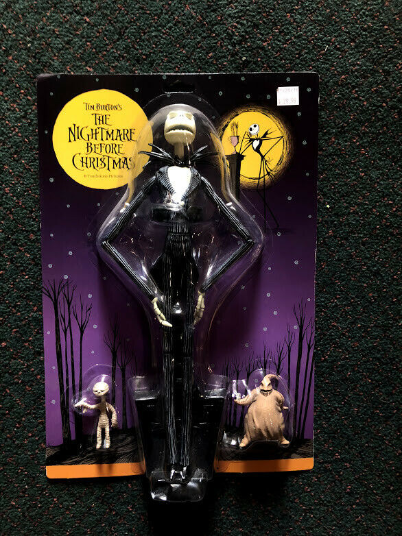 The Nightmare Before Christmas 12  Jack Skellington Action Figure  4 New N-234