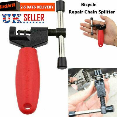 Bike Bicycle Chain Splitter Breaker Repair Rivet Link Pin Remover Tool UK