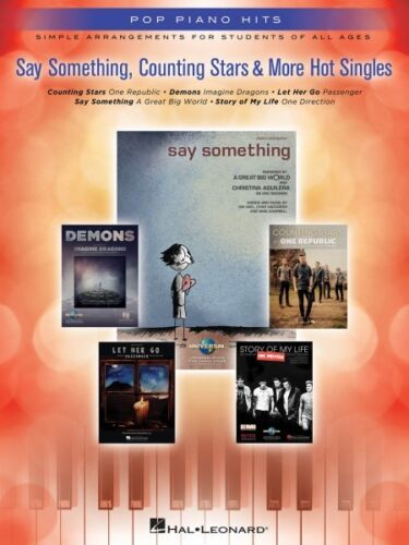 Say Something Counting Stars /& More Hot Singles Simple Arrangements fo 000125356