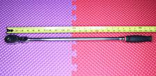 Snap On 12 Dr Dual 80 Technology Soft Grip Long Handle Flex Head Ratchet Red