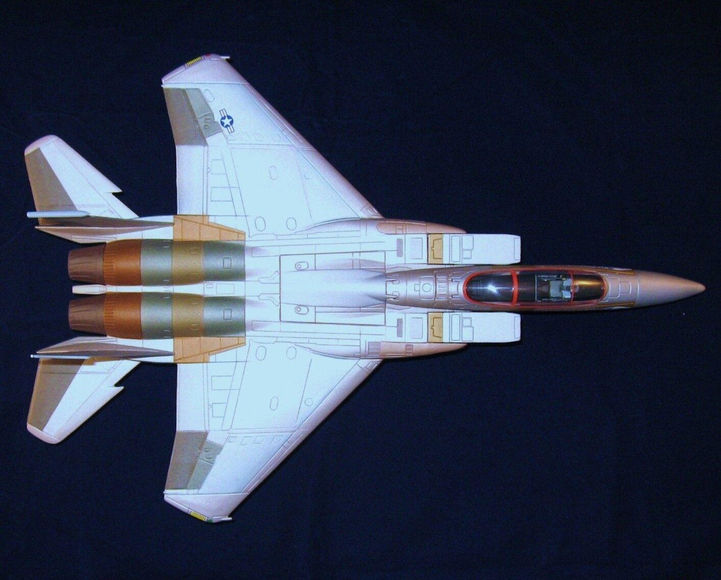 servicio de primera clase Modelo de avión avión militar armadura Fighter Vintage 1 48 48 48 Cocherusel Bronce 18  marcas de moda
