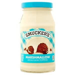 NEW-SEALED-SMUCKERS-039-S-MARSHMALLOW-TOPPING-12-25-OZ-FREE-WORLDWIDE-SHIPPING