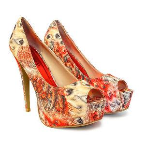 new womens party platform pumps killer high heels stiletto