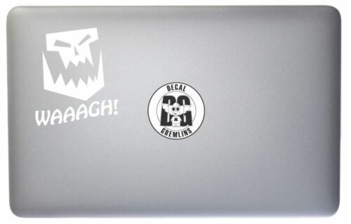 Warhammer 40K Ork Waaagh Vinyl Car Window Laptop Decal Sticker