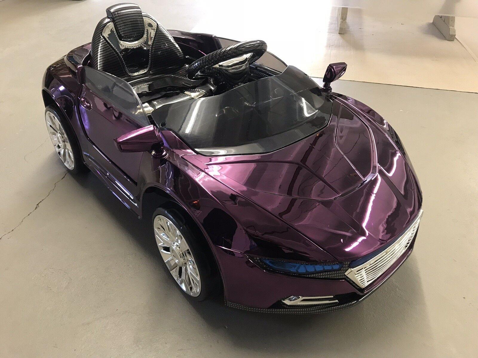 HL228 Elektro Power Spyder Kinderauto Sportwagen Kinder Akku Fahrzeug 12V