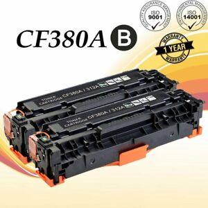 2PK-CF380A-Black-Toner-For-HP-312A-Color-LaserJet-Pro-MFP-M476dn-M476dw-M476nw