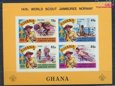 Ghana Frank Ghana Block64b Postfrisch 1976 Philatelie 8777058 Stamps