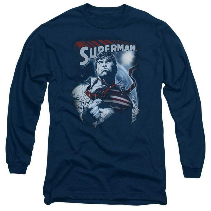 Superman Honor And Protect Men's Long Sleeve T-shirt
