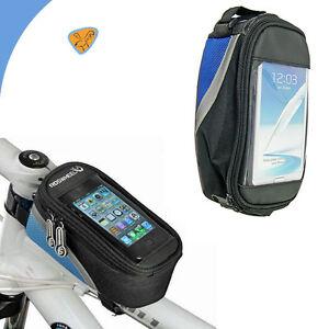 Borsa-touch-screen-bici-MOUNTAIN-BIKE-per-GALAXY-NOTE-3-N9005-impermeabile-BLU