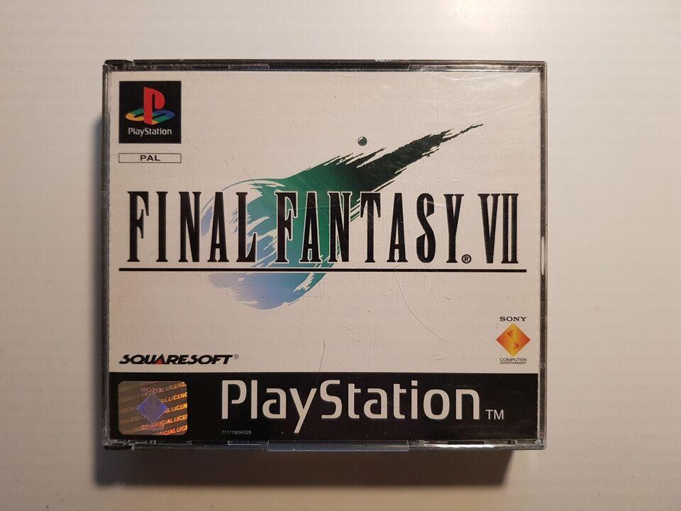 Final Fantasy VII, PS