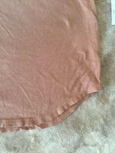 NWT LNA Clothing Double Cut V Tank in Tawny Birch $86