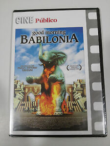GOOD-MORNING-BABILONIA-DVD-SLIM-REGION-2-ESPANOL-ITALIANO-NEW-SEALED-NUEVO