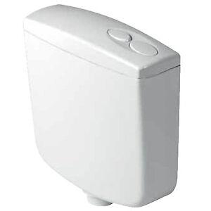 Cassetta wc di scarico a zaino bagno universale doppio - Scarico acqua bagno ...