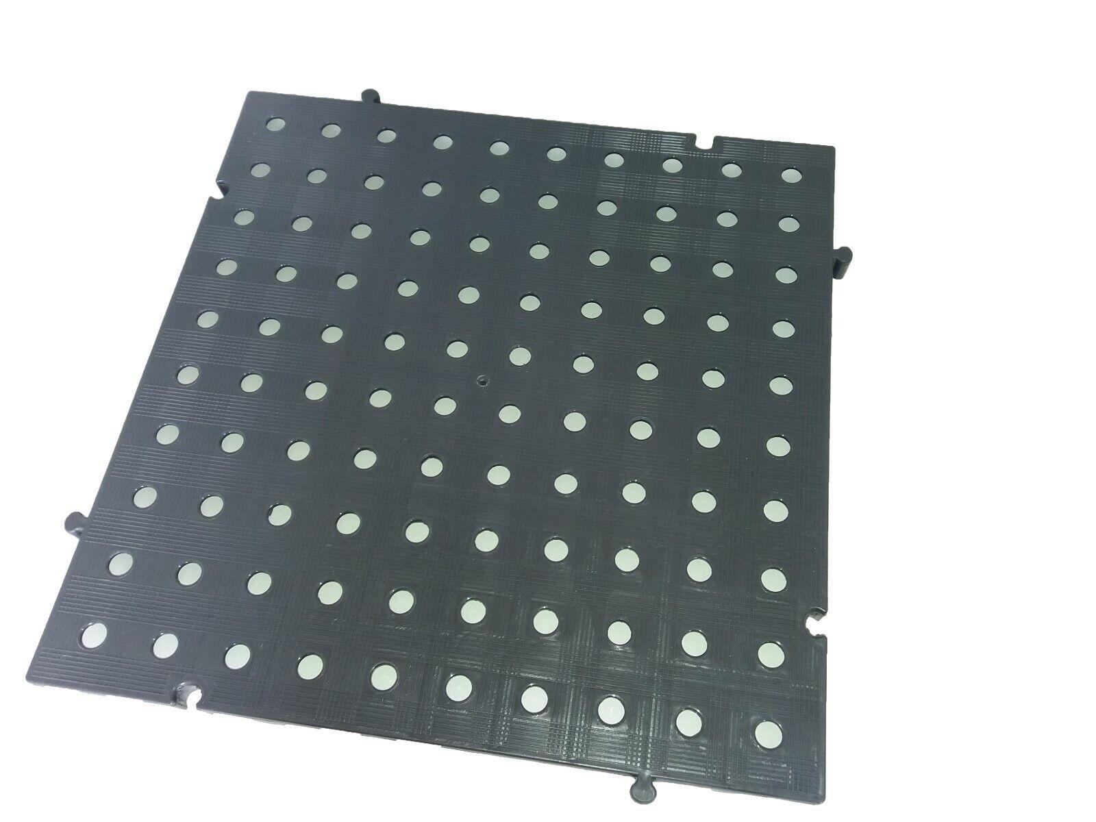 s l1600 - Náyade® Block Losa Tarima desmontable 50x50x2,5 cm. Apto uso alimentario. Gris