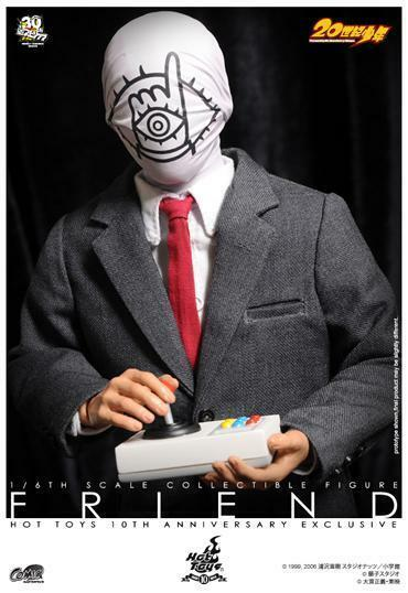 Ready  Hot Toys CMS01 20th Century Boys - Friend 1 6 Figure New