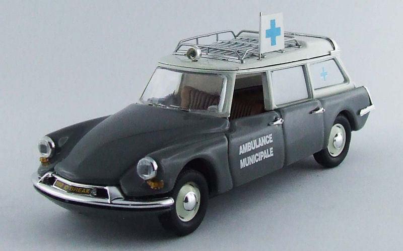 Invincible pour forcer le groupe à acheter aucune livraison à des prix abordables Citroen DS19 Ambulance Municipale 1962 Grey 1:43 Model RIO4447 RIO | Elaborer  | Prix D'aubaine  | Durable Dans L'utilisation  | Art Exquis