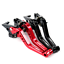 CNC-Short-Aluminum-Adjustable-Brake-Clutch-Levers-For-Suzuki-SV1000-S-03-2007 thumbnail 3