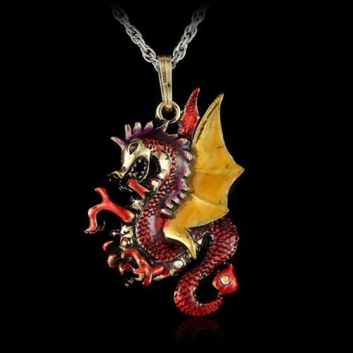 Hot Butterfly Horse Charm Rhinestone Pendant Chain Necklace Lady Jewelry Costume