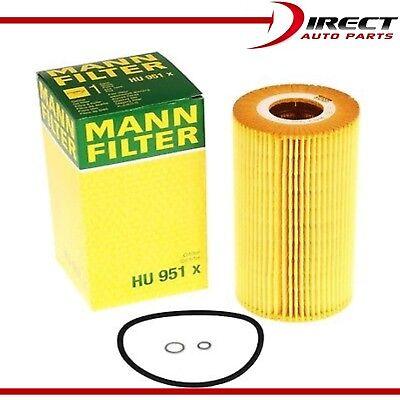 5X For Mercedes-Benz E300 Engine Oil Filter HU951X  l6 3.0L 1996 1997 1998 1999