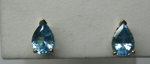 14K-SOLID-GOLD-1-50-CT-PEAR-SHAPE-BLUE-TOPAZ-EARRINGS-WITH-SCROLLED-SIDES-NR