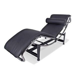 Dettagli su Le CORBUSIER LC4 chaise Lounge Poltrona Reclinabile Vera Pelle  Italiana SEDIA POLTRONA- mostra il titolo originale
